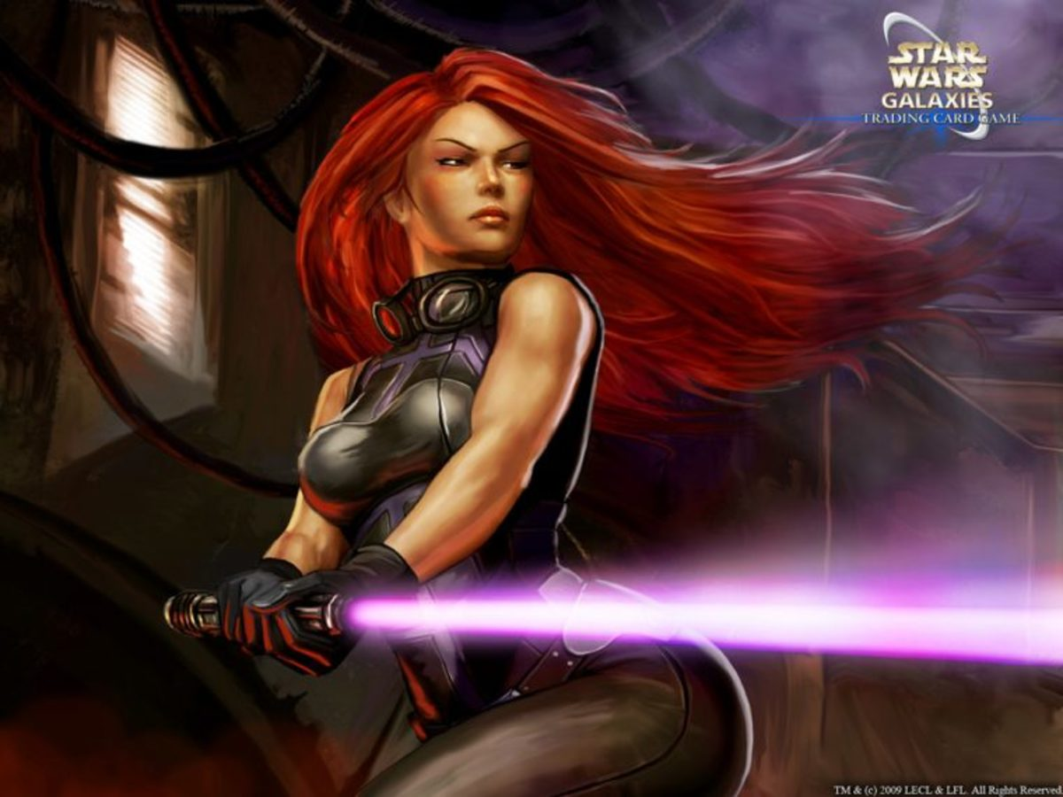 Mara Jade Skywalker - no longer canon.