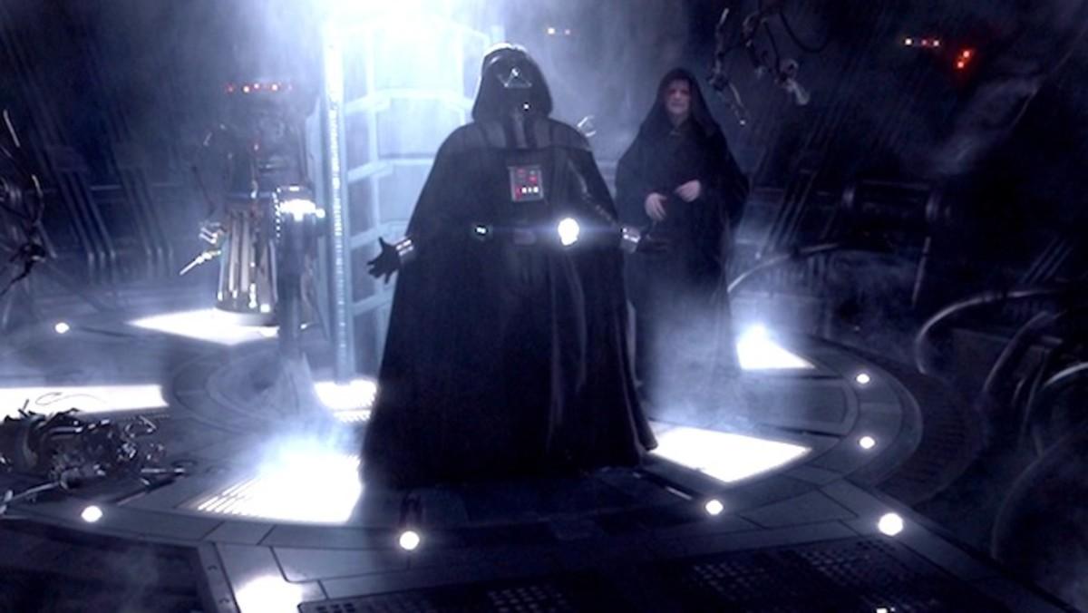 Padme dies. Vader lives.