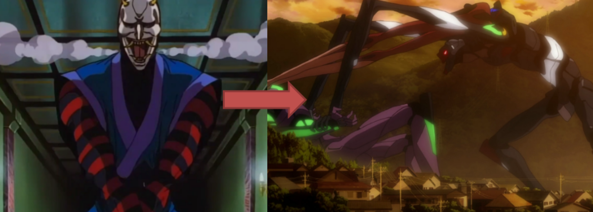 Now if only the Unit 03 had claws