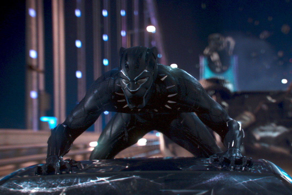 The new suit of Black Panther