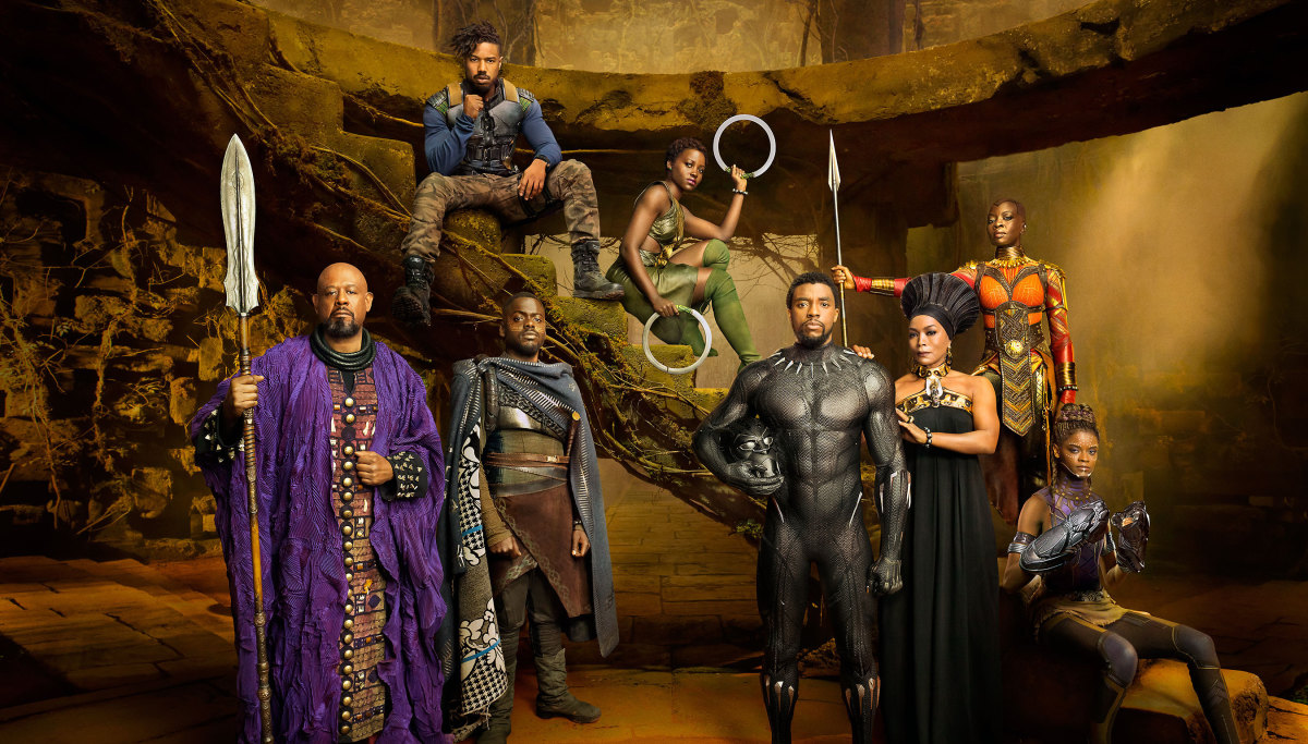 The Main Cast of Black Panther