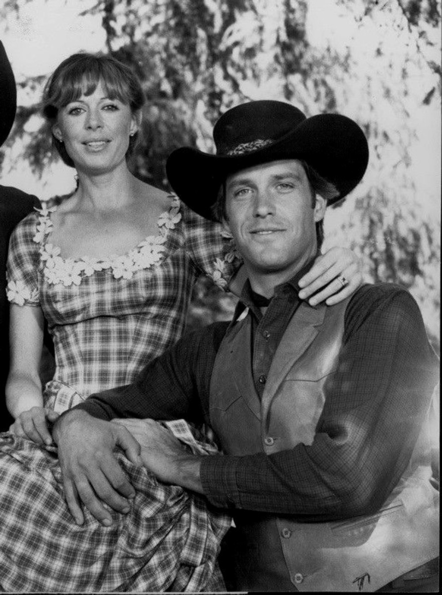 Publicity photo of Charles Frank with his real life wife and co star Susan Blanchard