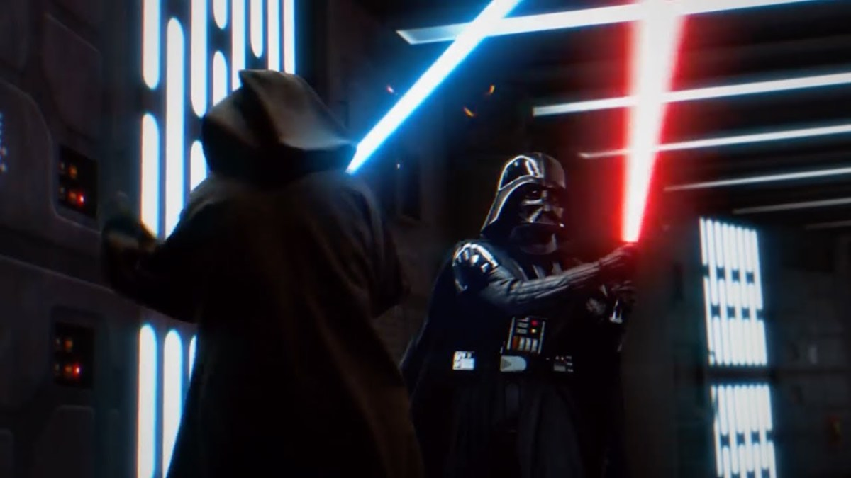 Obi-Wan vs Darth Vader