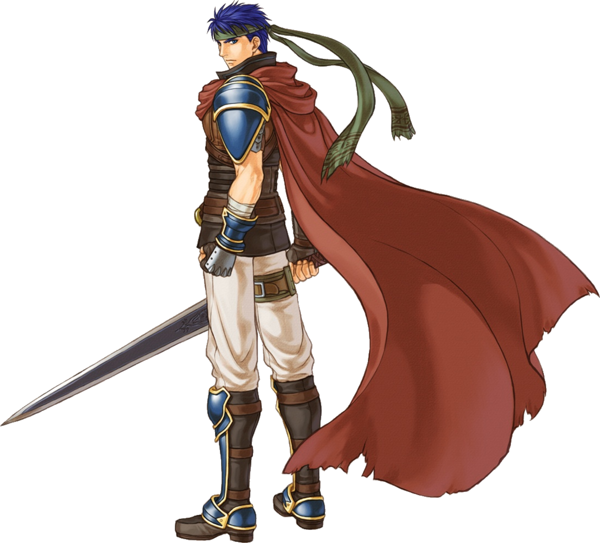Ike in Radiant Dawn before his disappearance