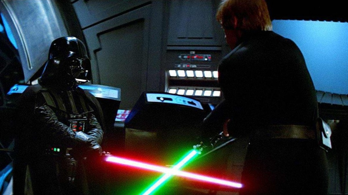 Luke vs Darth Vader (Return of the Jedi)
