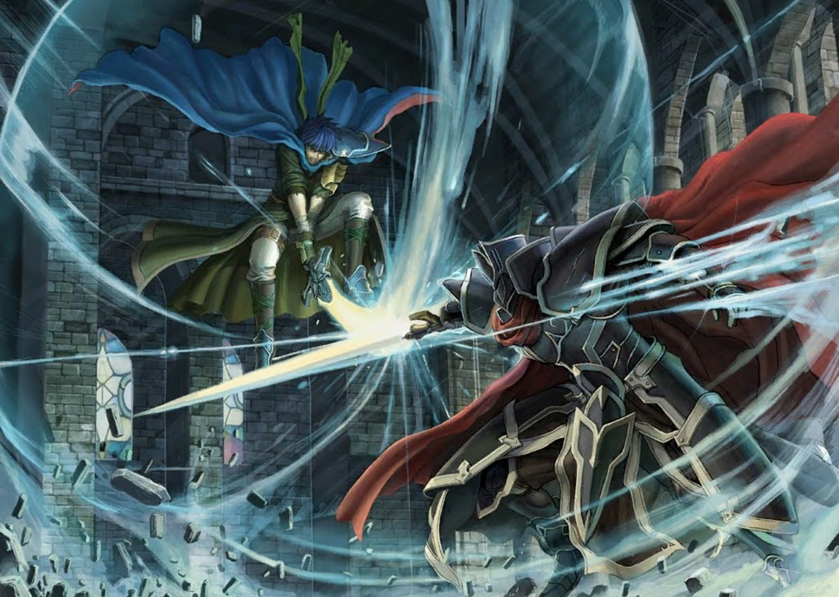 Ike vs The Black Knight