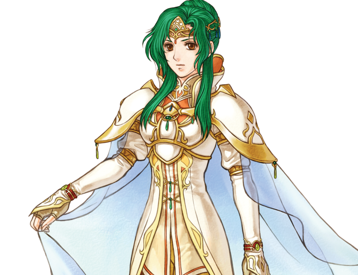 Elincia in Radiant Dawn