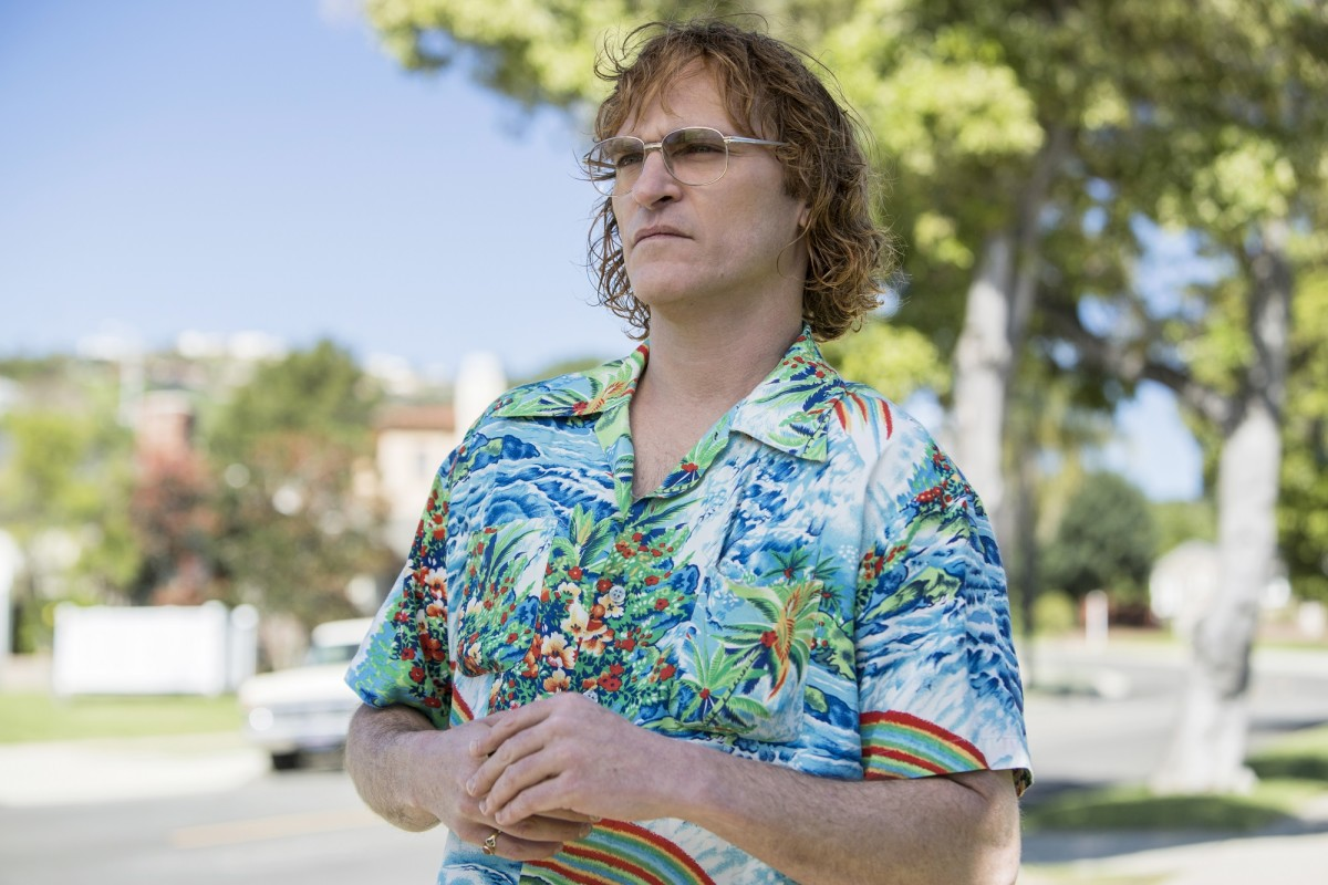 "Joaquin Phoenix as John Callahan in, ""Don't Worry, He Won't Get Far on Foot."""
