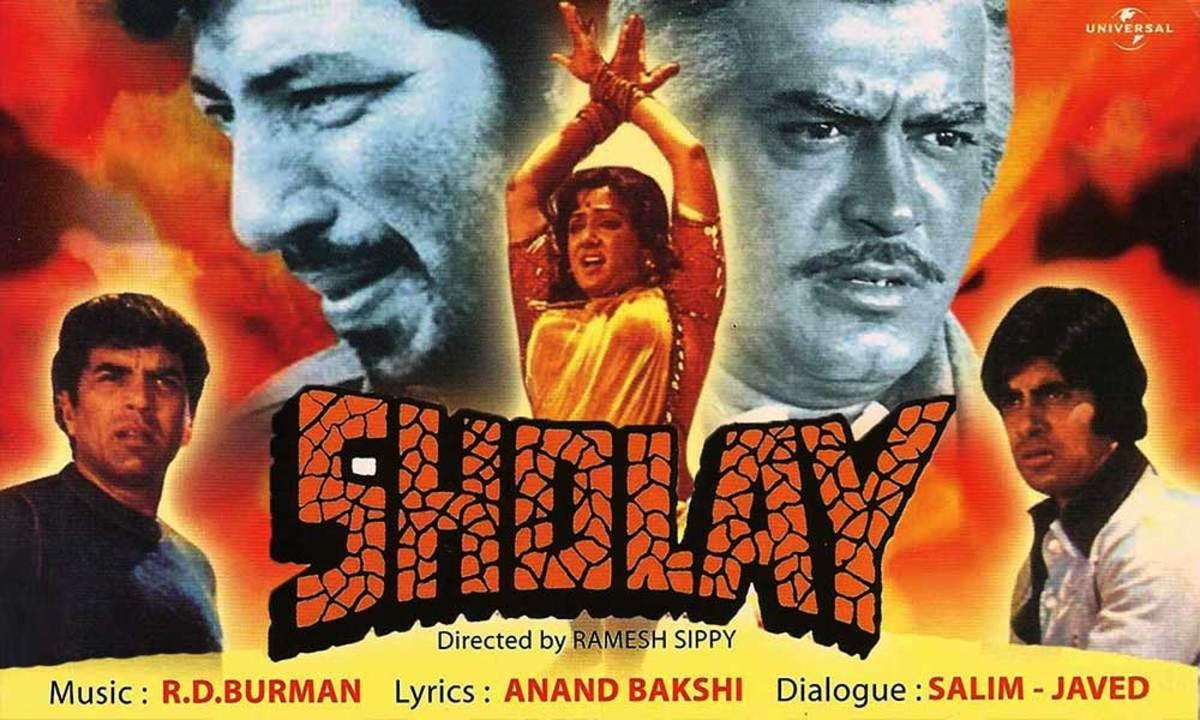 Sholay (Embers) - 1975 | Top 20 Best Bollywood Hindi Movies
