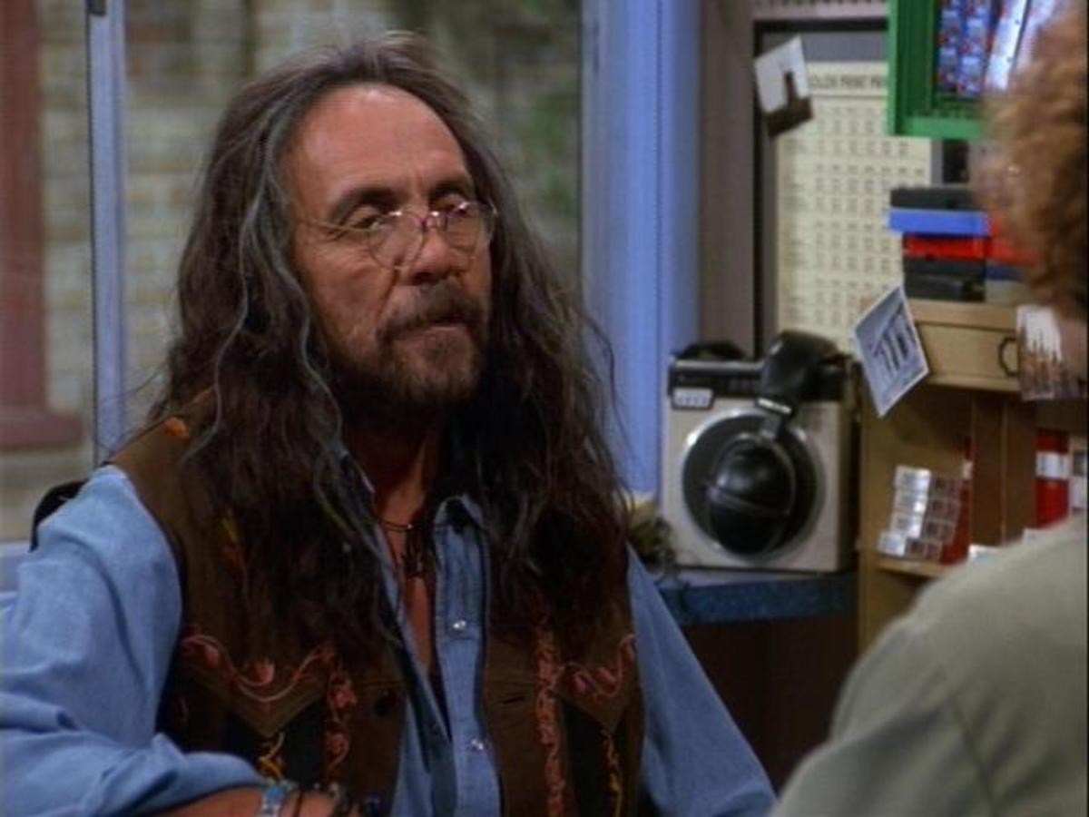 Tommy Chong as the lovable hippie Leo.