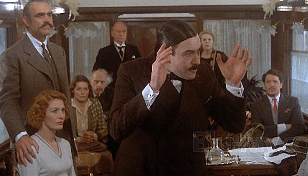 The 1974 version starring Albert Finney as Hercules Poirot