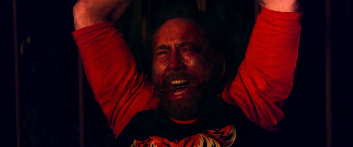 "Nicolas Cage as Red Miller in, ""Mandy."""