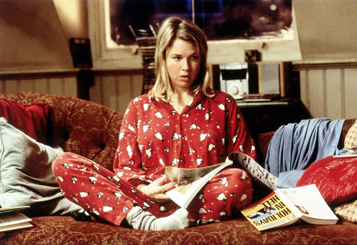 Renee Zellweger as Bridget Jones.