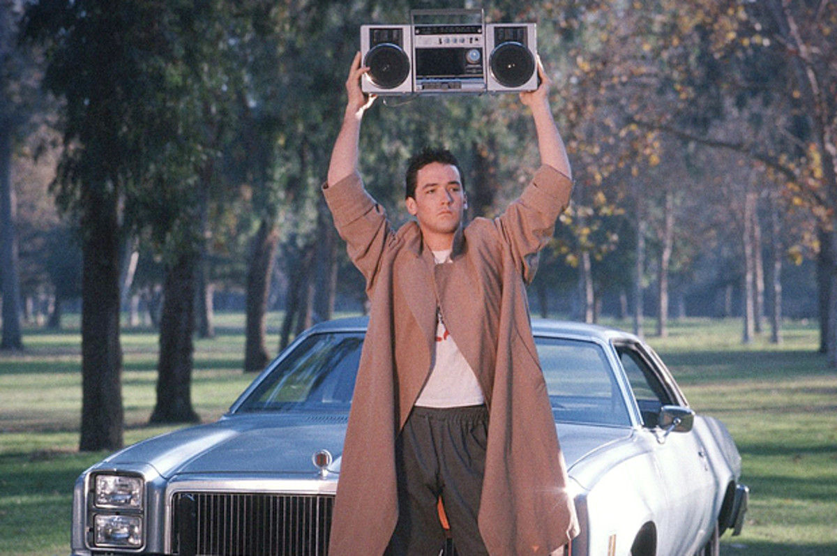 John Cusack in Say Anything.
