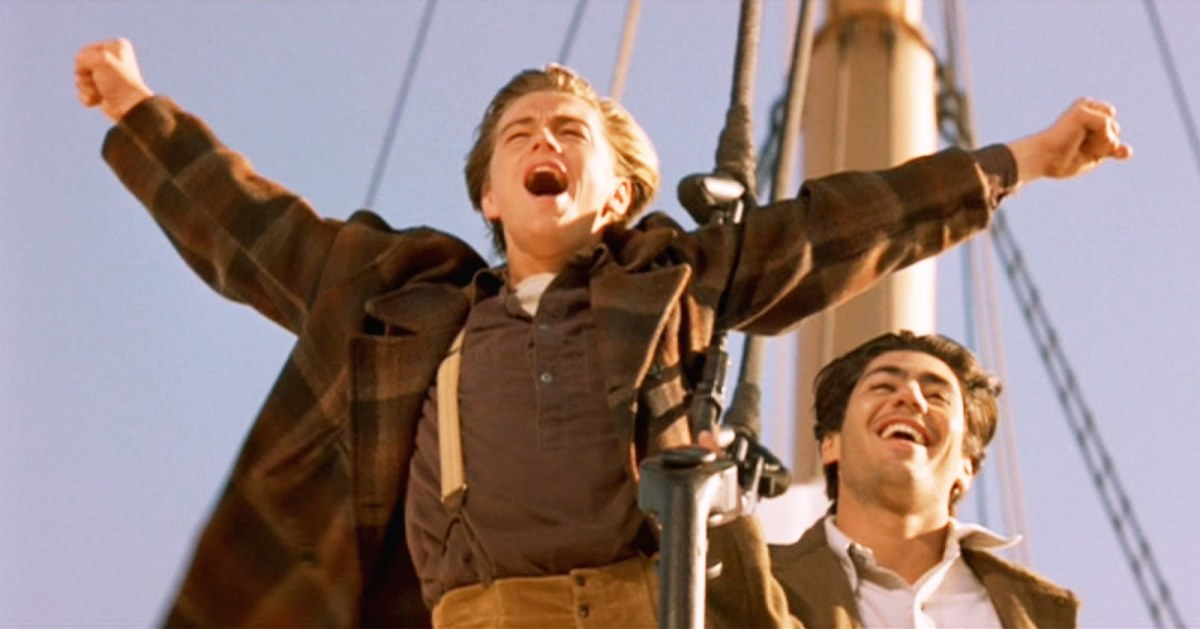 """""""I'm the king of the world!"""""""