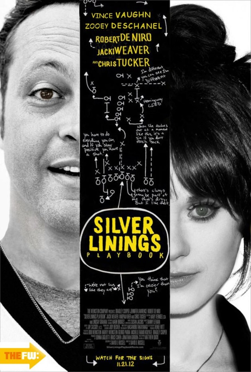 Vince Vaughn & Zooey Deschanel almost starred as the leads in Silver Linings Playbook.
