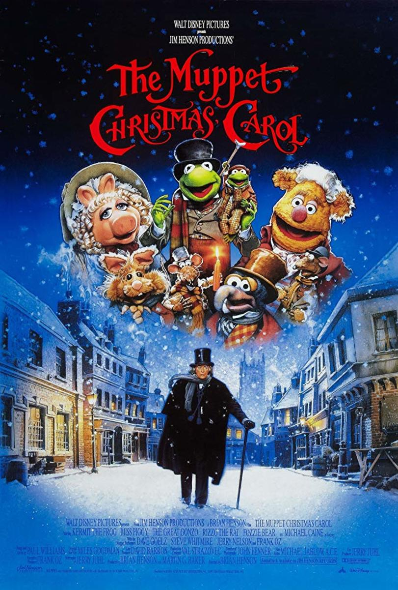 Movie poster for The Muppet Christmas Carol (1992)