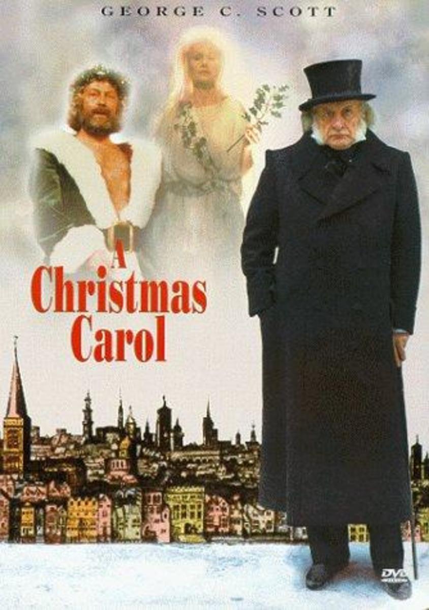 """A Christmas Carol"" with George C. Scott (1984)"