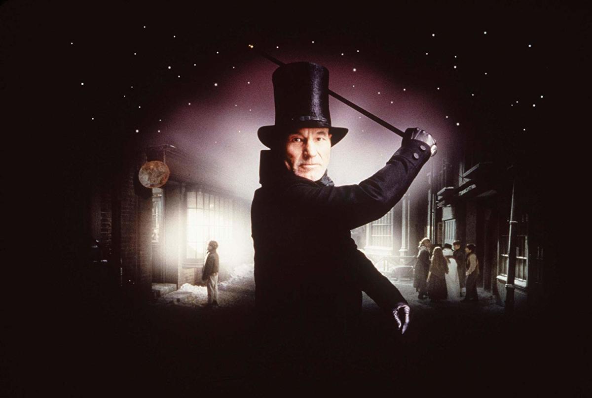 "Patrick Stewart in ""A Christmas Carol"" (1999)"