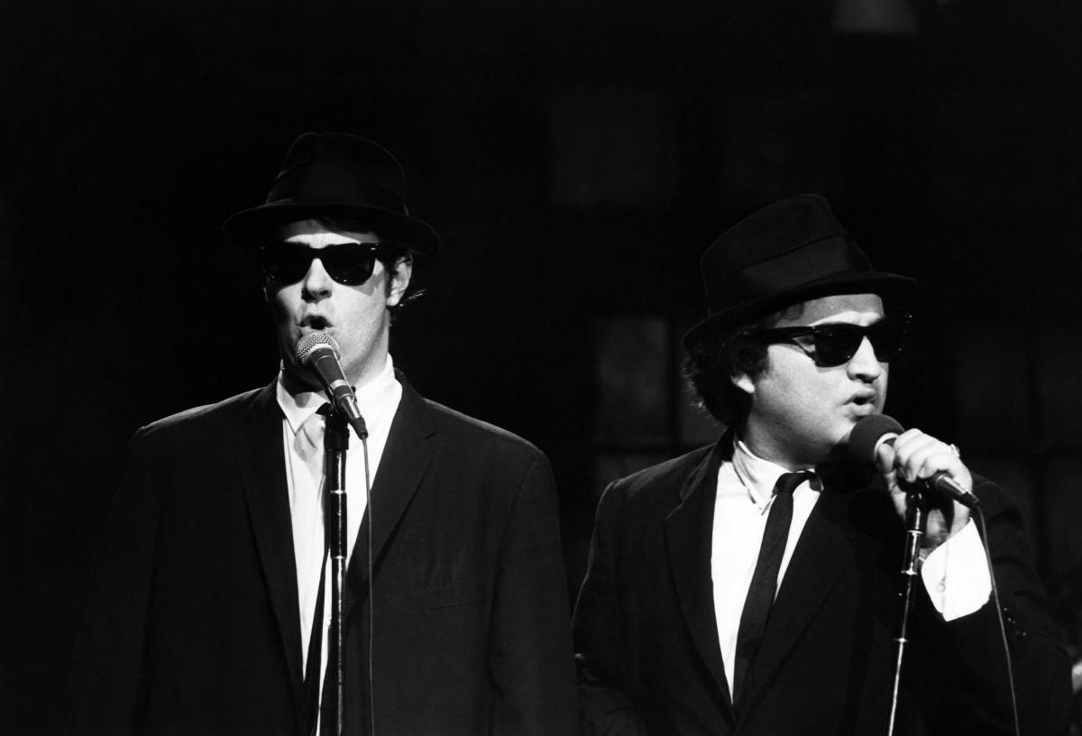 Dan Aykroyd & John Belushi.