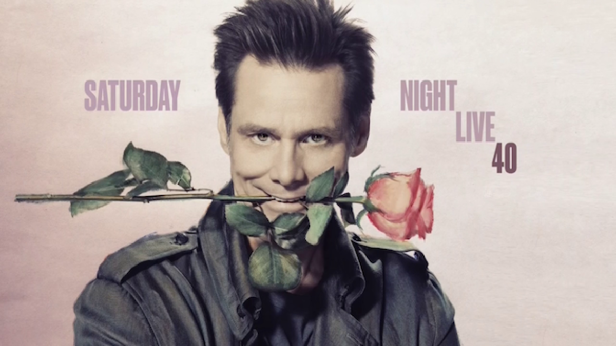 Jim Carrey hosting SNL.