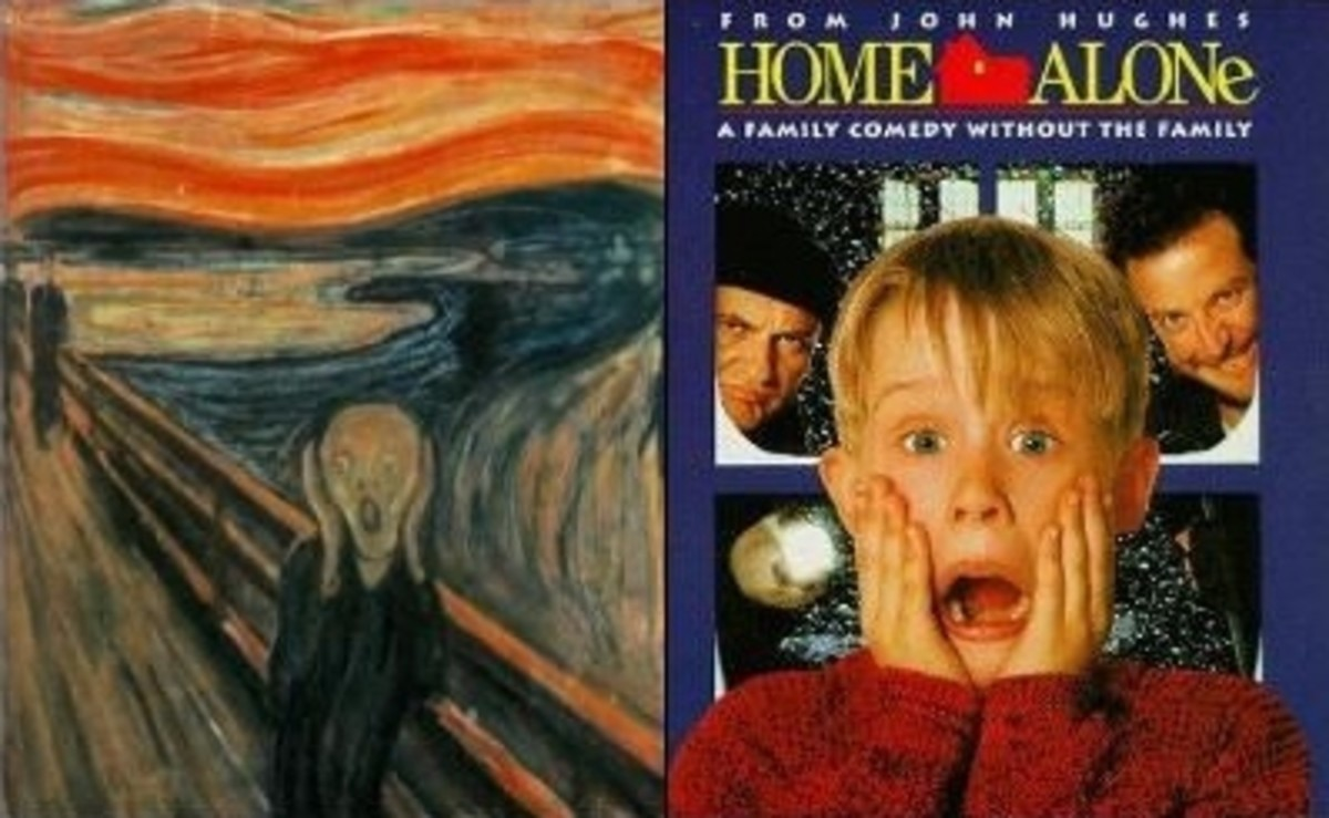 "Home Alone & Edvard Munch's ""The Scream"