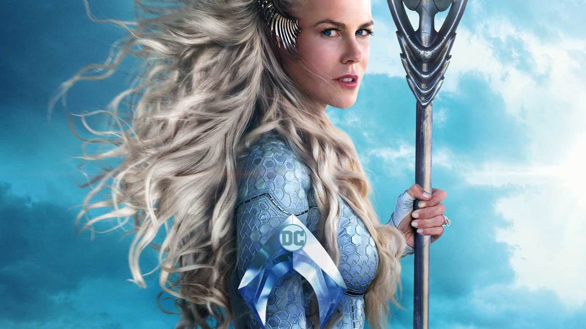 Nicole Kidman as Atlanna in Aquaman.