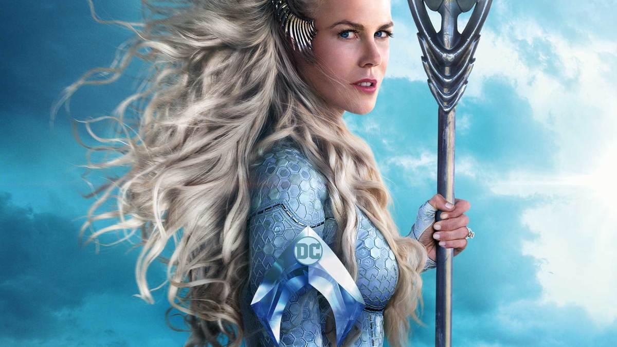 Nicole Kidman as Atlanna in Aquaman.