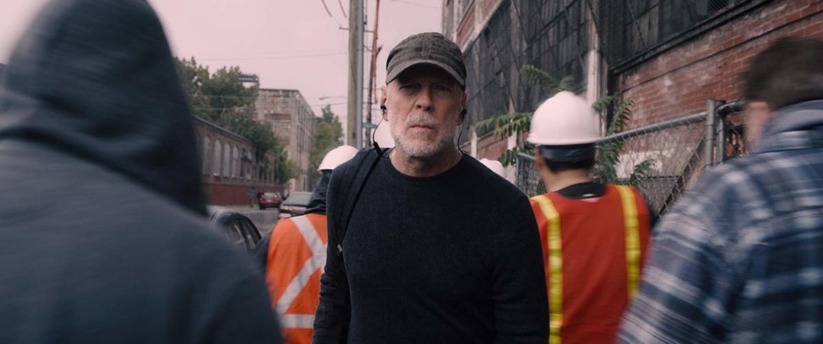 "Bruce Willis returns as David Dunn in, ""Glass."""