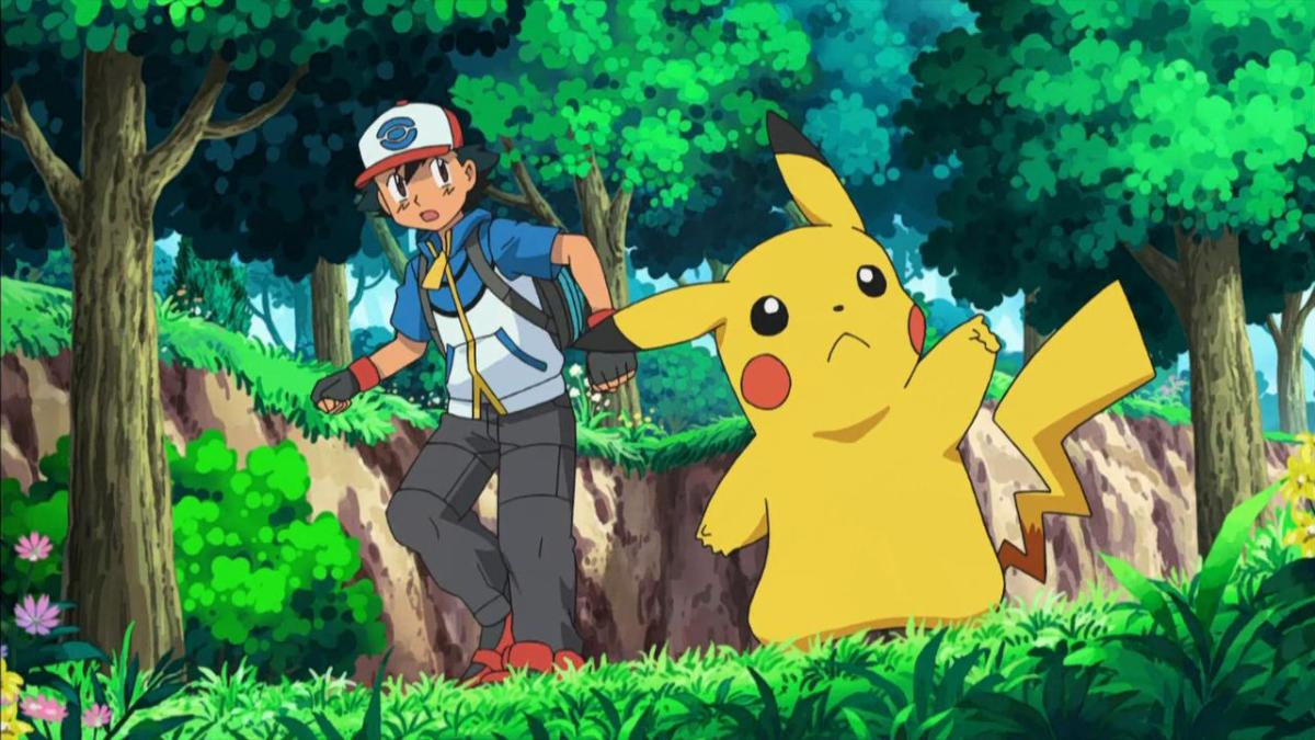 Ash and Pikachu are still an inseparable team.