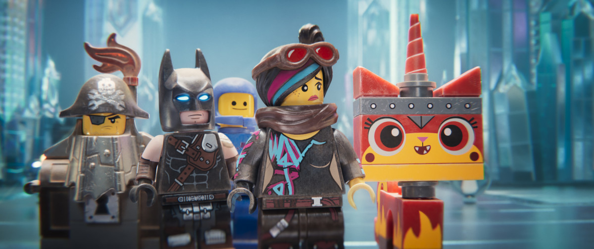 MetalBeard, Batman, Benny, Wyldstyle, and Unikitty arrive in the Systar System.