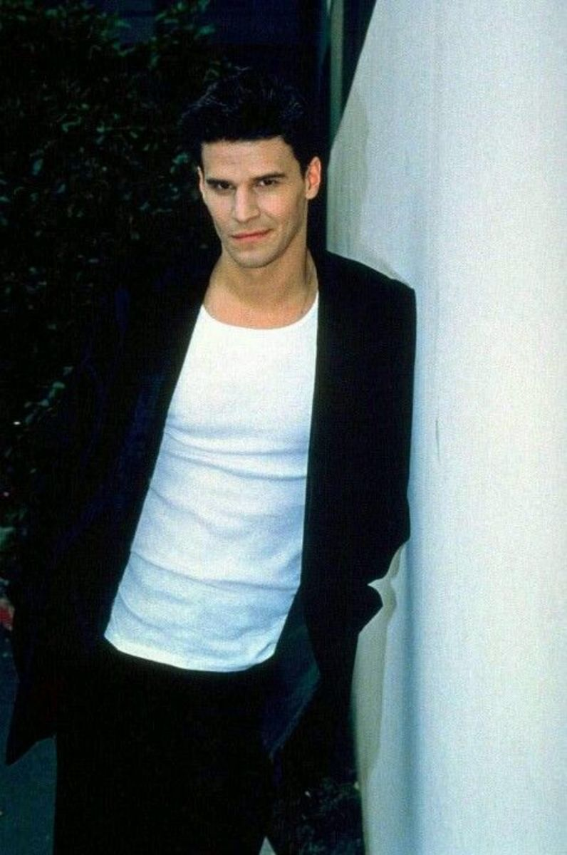 David Boreanaz in Season 1 of Buffy
