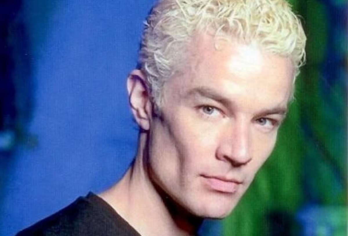 James Marsters during Buffy.