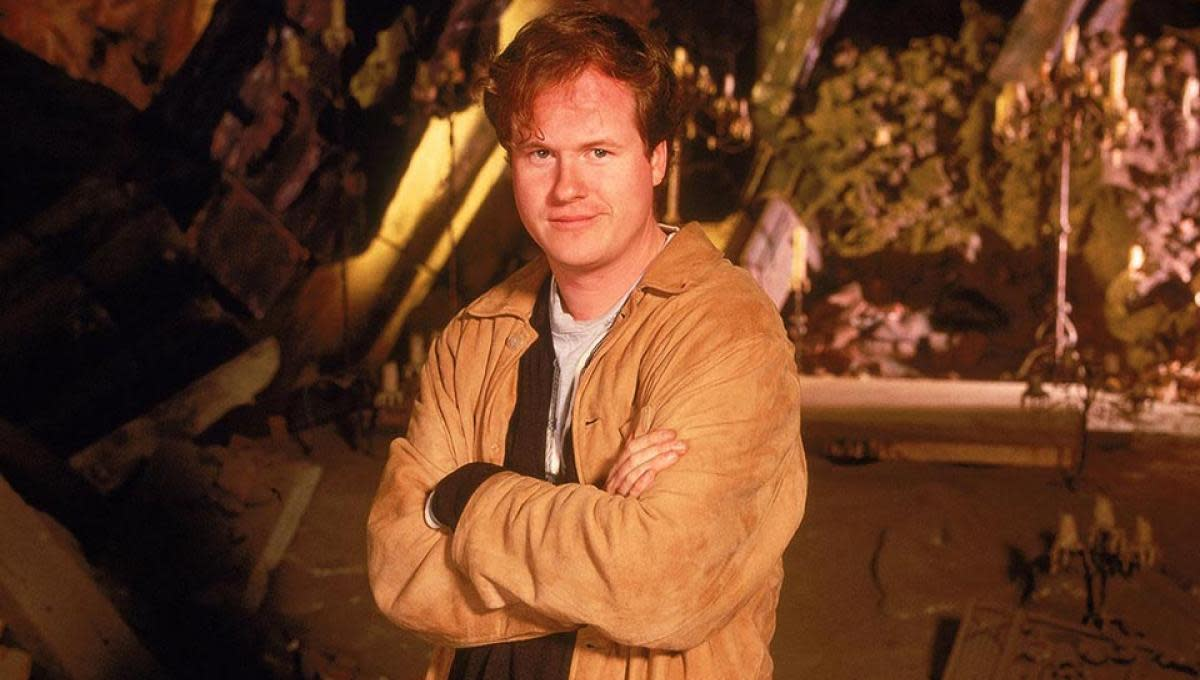 Joss Whedon during Season 1 of Buffy