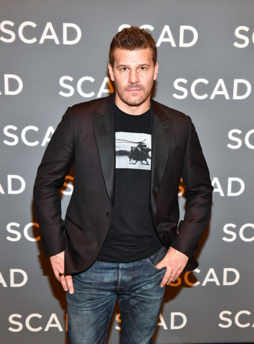 David Boreanaz in 2019.