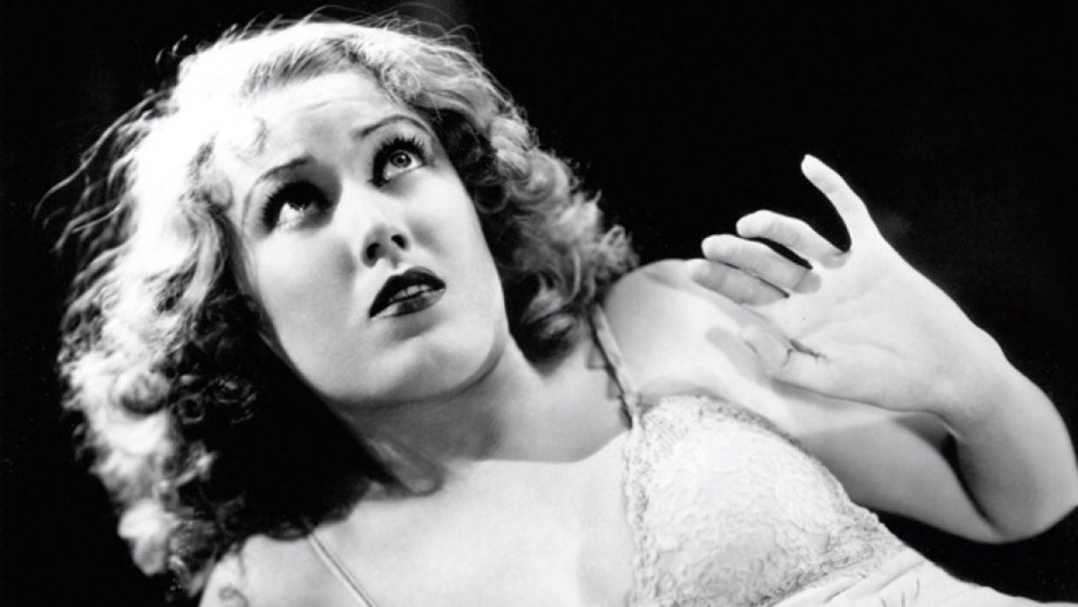 Fay Wray in King Kong.