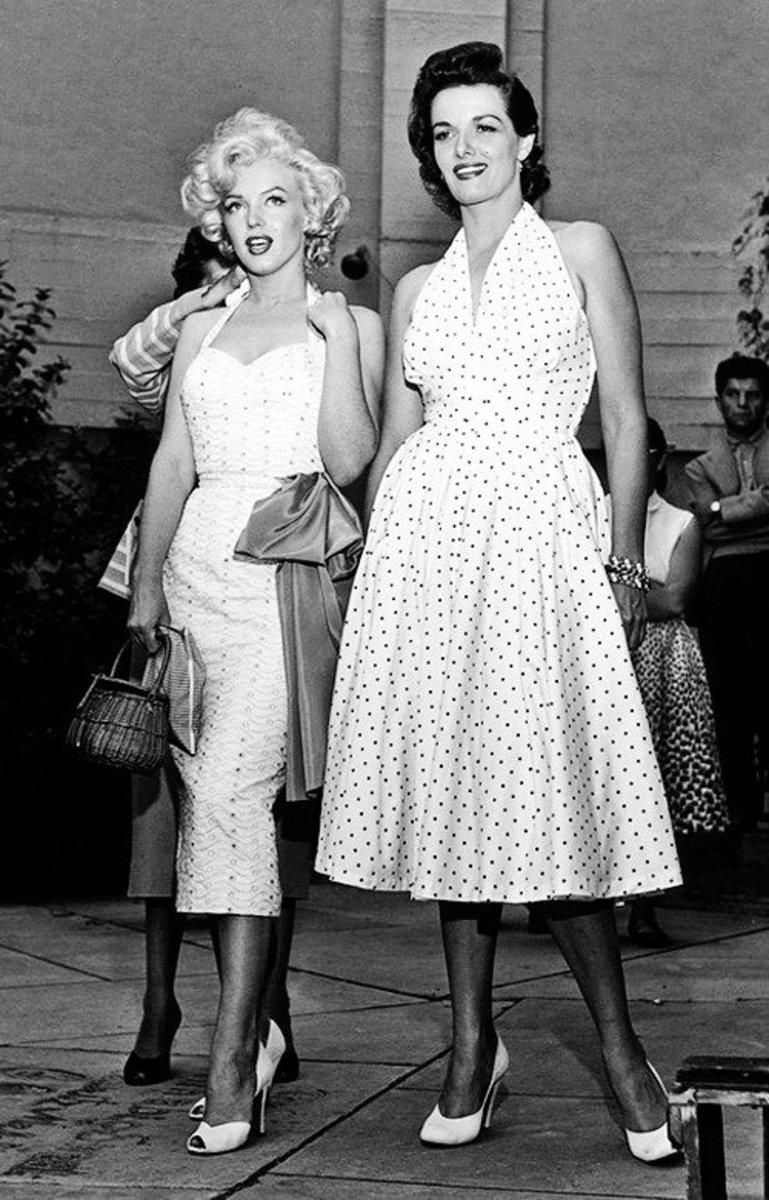 Marilyn Monroe & Jane Russell.