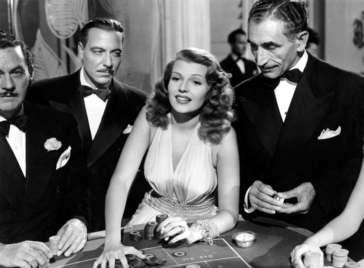 Rita Hayworth in Gilda.