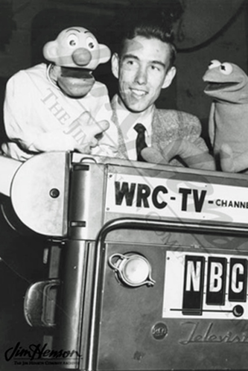 Jim Henson and Junior Morning Show