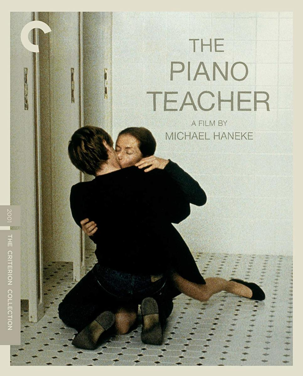 """Movie poster for """"The Piano Teacher"""""""