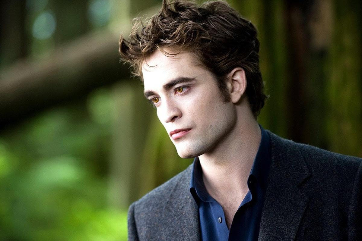 Robert Pattinson in the Twilight films in 2008