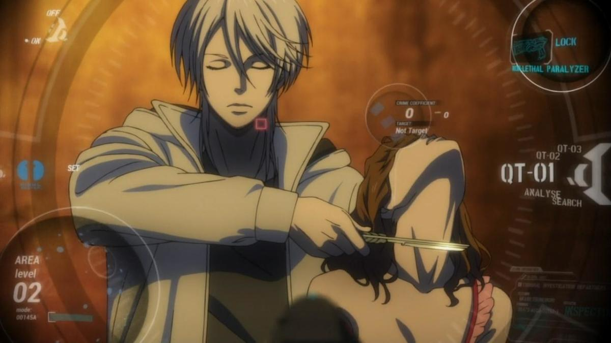 Shogo Makishima is a brilliant, if utterly ruthless criminal mastermind, willing to do whatever it takes to prove his point.