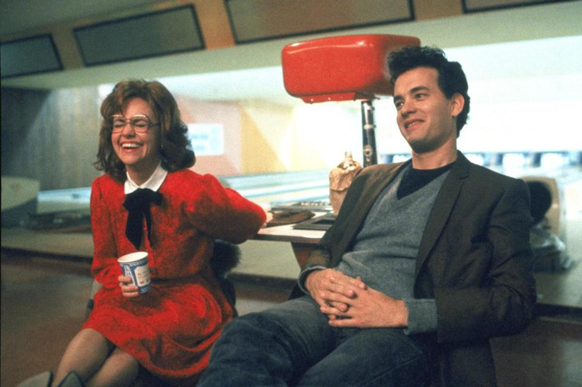 Sally Field & Tom Hanks in 1988's Punchline.