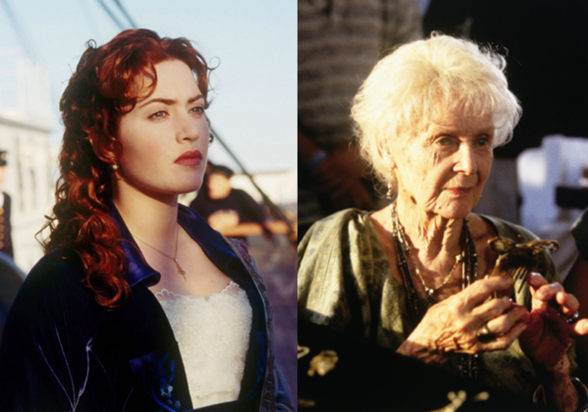 Both Kate Winslet & Gloria Stuart were both nominated for Oscars for their role as Rose.