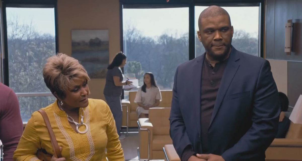 Tyler Perry being Tyler Perry.