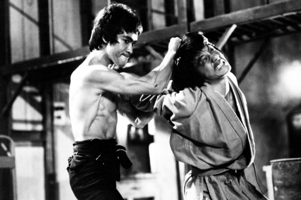 Bruce Lee & Jackie Chan.