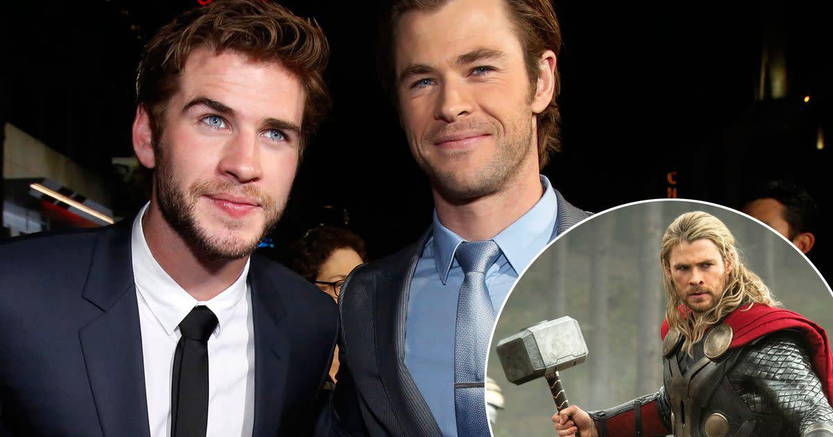 Brother Liam & Chris Hemsworth.