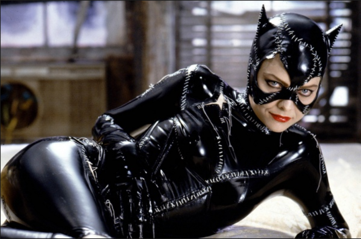 Michelle Pfeiffer as Catwoman.