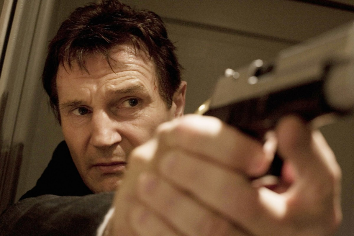 Liam Neeson in Taken.