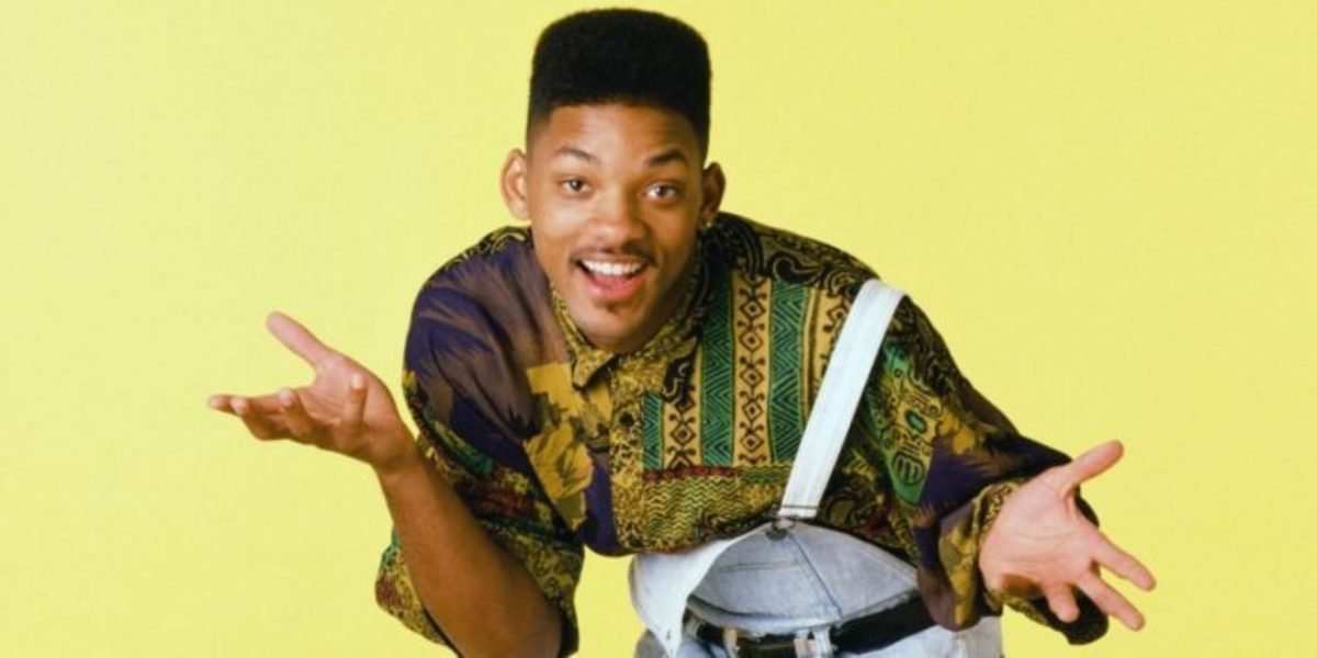 Will Smith on The Fresh Prince of Bel-Air.